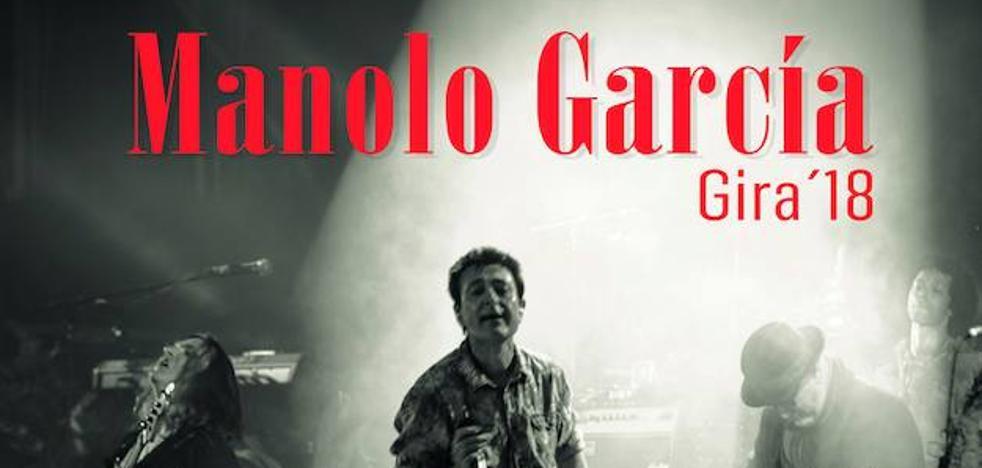 Salen a la venta las entradas para el concierto de Manolo García en Jaén