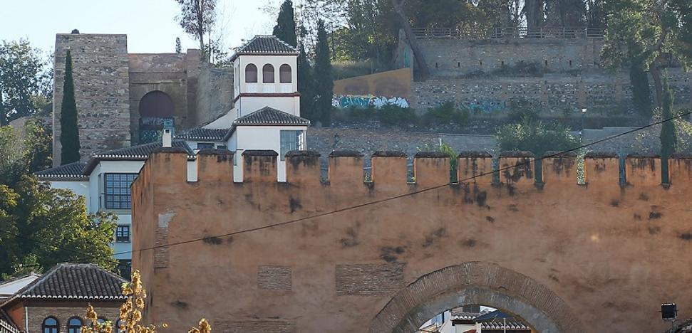 Por las murallas del Albaicín