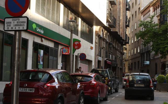 Los repartidores se movilizan ante la peatonalización