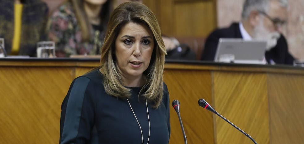 Susana Díaz apoya la inversión ITI para Jaén