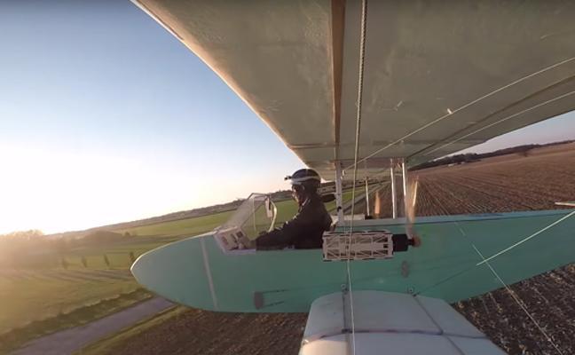 Fabrica su propio avión casero con 103 piezas compradas por Internet y funciona