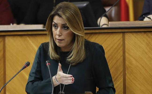 Susana Díaz anuncia un nuevo plan de empleo para mayores de 45 años y 8.000 euros por contratos indefinidos