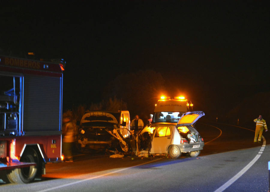 Accidente mortal en Alhama