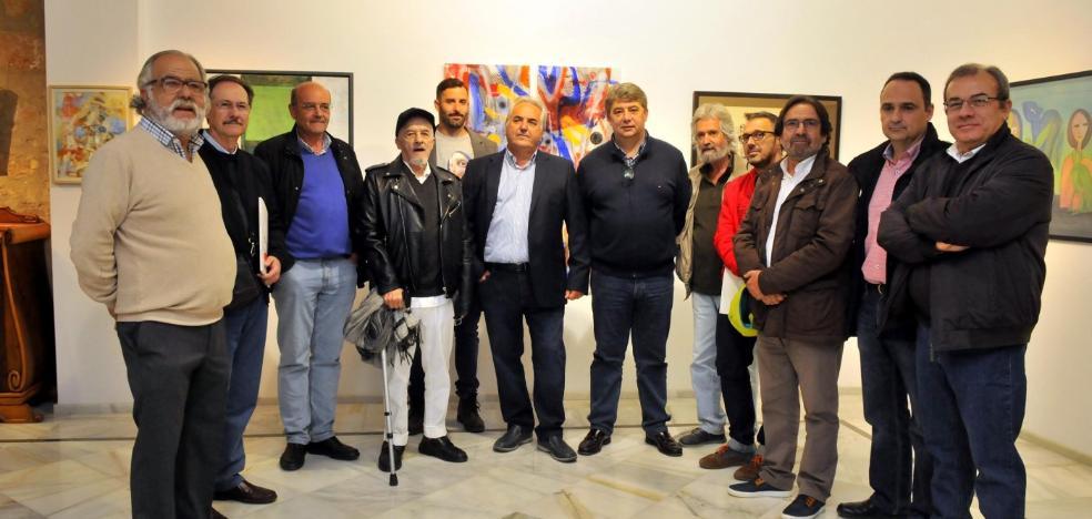 Cristóbal Bejarano inaugura una muestra que conmemora sus diez años