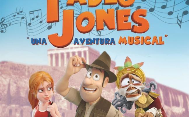 El musical de Tadeo Jones llega al Palacio de Congresos el viernes 1 de diciembre