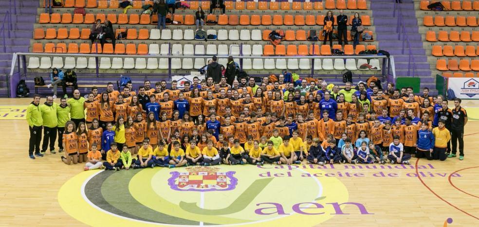 El GAB Jaén cuenta esta temporada con equipos en todas las categorías