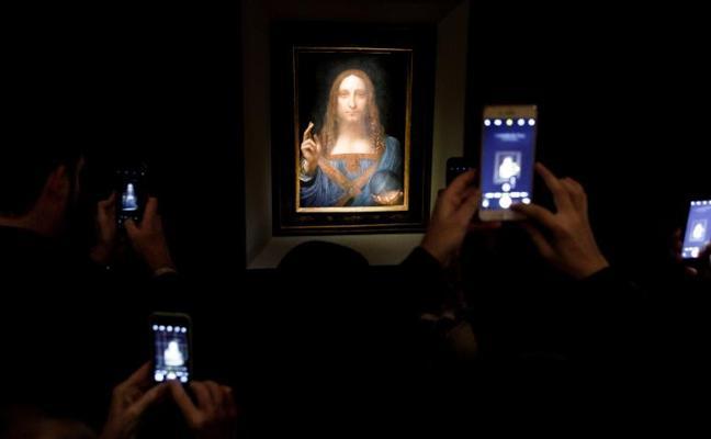 Un cuadro de Da Vinci se subasta por 381 millones de euros, un récord mundial