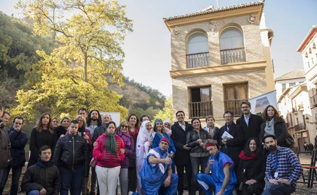 Medio millar de escolares disfrutan del Día del Patrimonio en Granada con talleres de artes plásticas y teatro