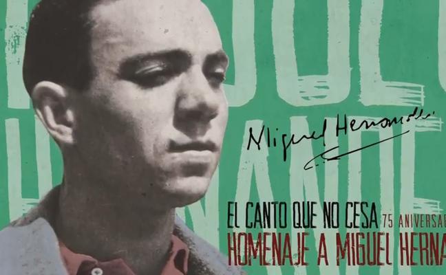 Silvio Rodríguez, Víctor Manuel, Serrat o Sole Giménez, en el tributo a Hernández