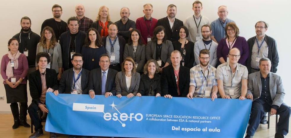 Diseñan en Granada el programa educativo de la Agencia Espacial Europea en 15 países