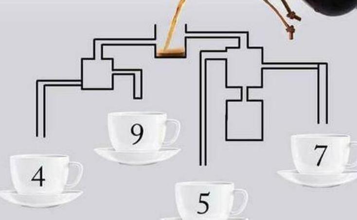 El reto del que habla todo el mundo: ¿Qué taza se llena antes?