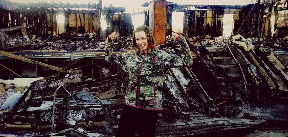 """""""Atravesé el fuego por mi hija"""""""