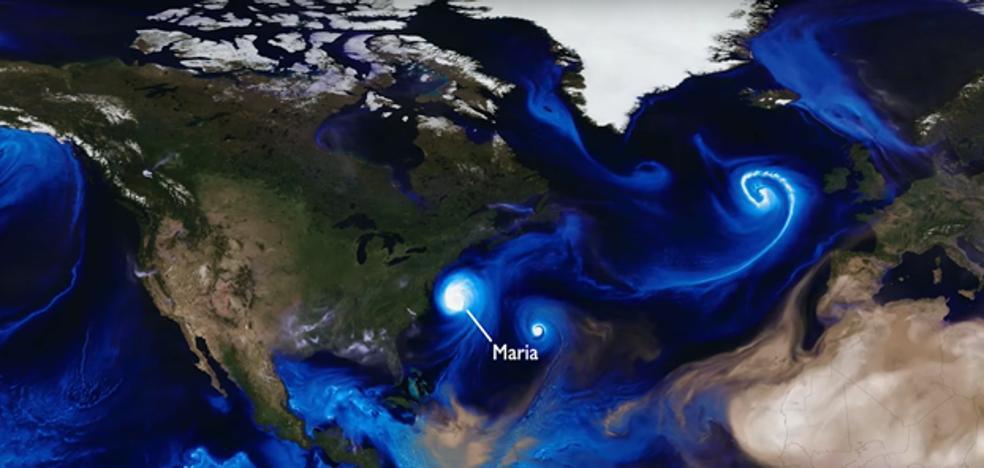 Espectacular vídeo de la NASA: todos los huracanes de 2017 en 2 minutos
