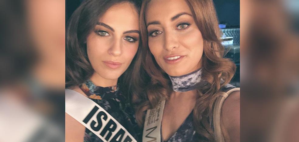 El selfie de la paz de Miss Irak y Miss Israel que desata una guerra en las redes