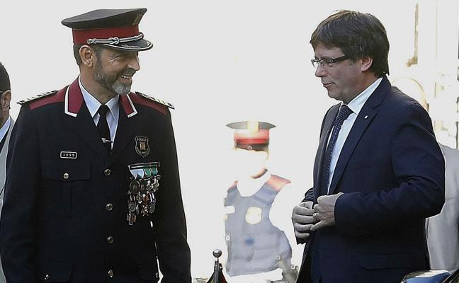 Trapero rechaza unirse a la lista de Puigdemont porque quiere seguir siendo policía