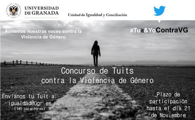 La Universidad de Granada convoca un concurso de tuits contra la violencia machista ante el 25 de noviembre