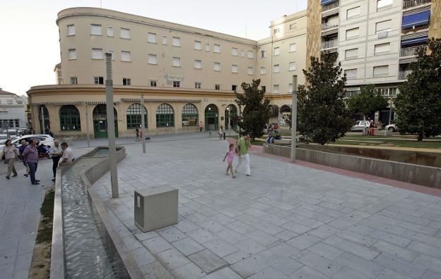 Actual Estación de Autobuses, en la plaza de la Libertad, en el centro de la capital jienense./M. BÉJAR