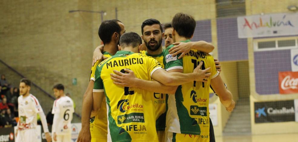 Zaragoza será el último escollo del Jaén FS para soñar con una final