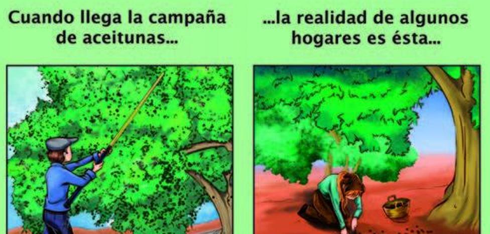 'Tiempos de Aceituna', el cómic que fomenta la conciliación