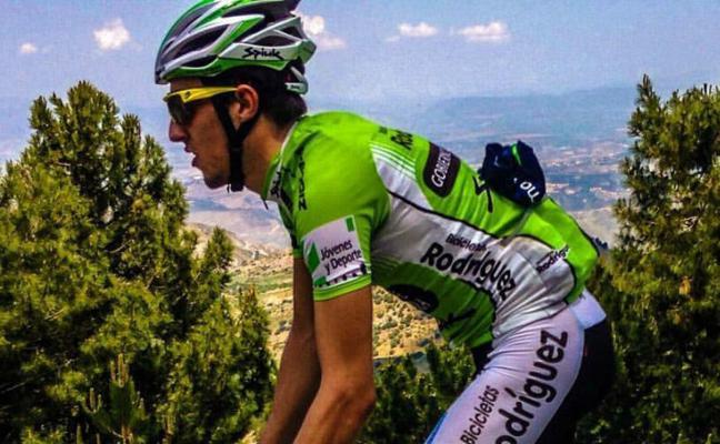 El jienense José Manuel Díaz tiene como sueño correr Giro de Italia 2018