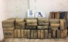 19 detenidos y cuatro toneladas de hachís incautadas tras caer una organización hispano-portuguesa