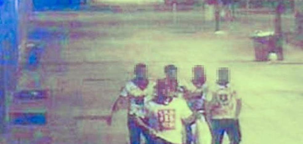 'La Manada' se defiende de la acusación de violación con una foto del Instagram de la chica
