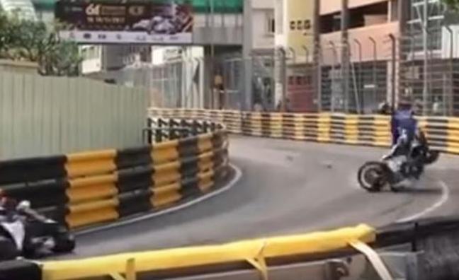 Muere el piloto británico Daniel Hegarty tras un espeluznante accidente