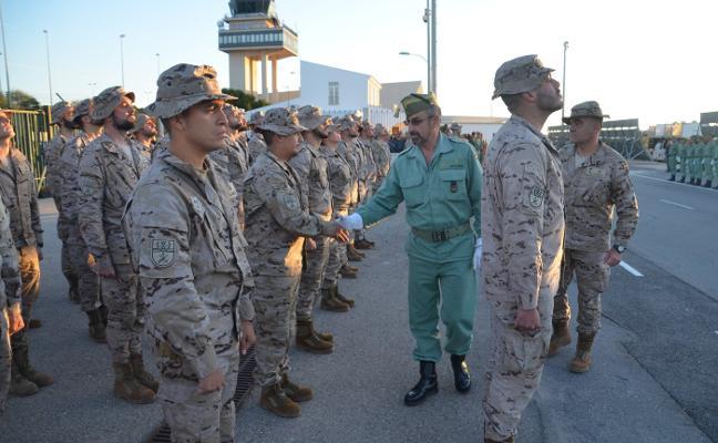 La Legión vuelve a mandar la misión de Irak