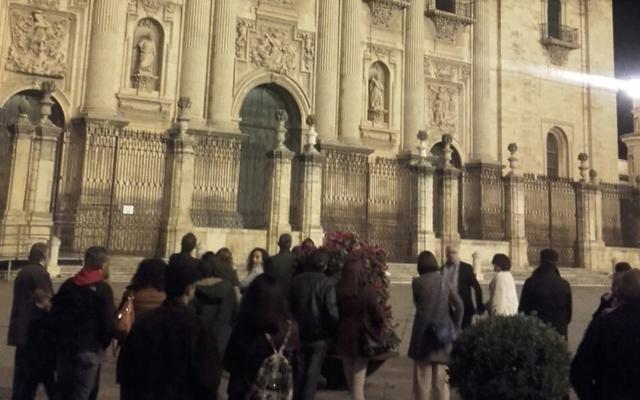 'Fanfarrias' en la fachada de la Catedral de Jaén