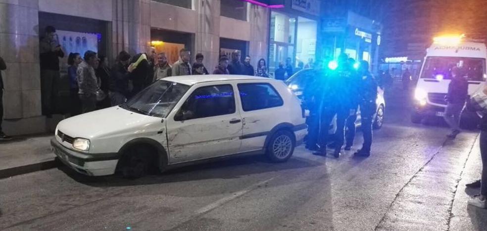 Intensa persecución en Motril para detener a tres sospechosos de un robo