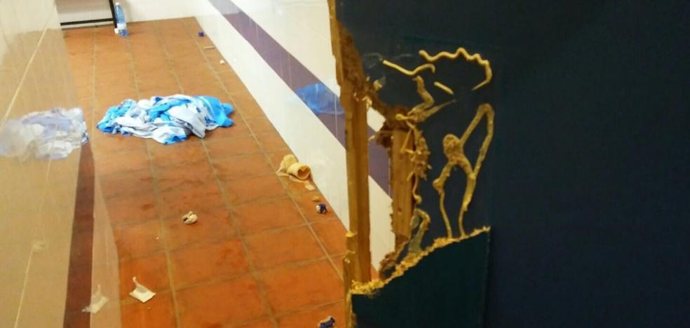 El Ayuntamiento Jaén denunciará a Peñíscola por destrozos en los vestuarios de la Salobreja
