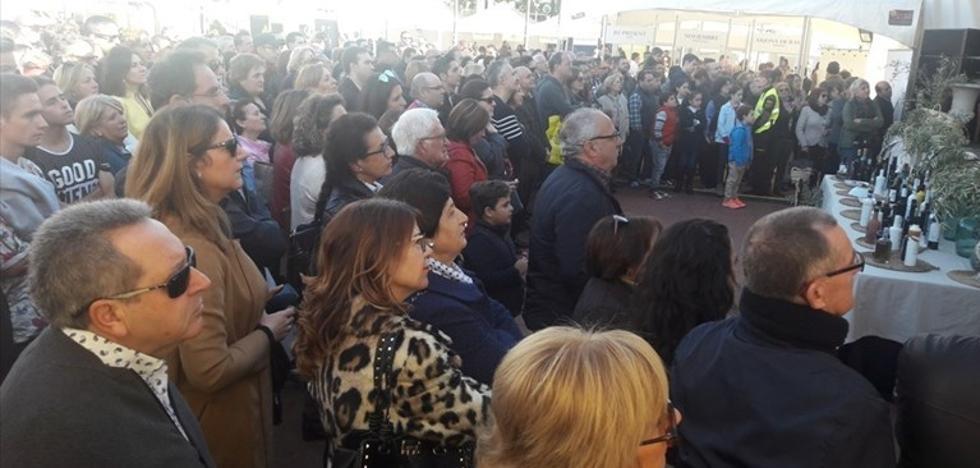 Éxito de público en la segunda jornada de la IV Feria del Primer Aceite