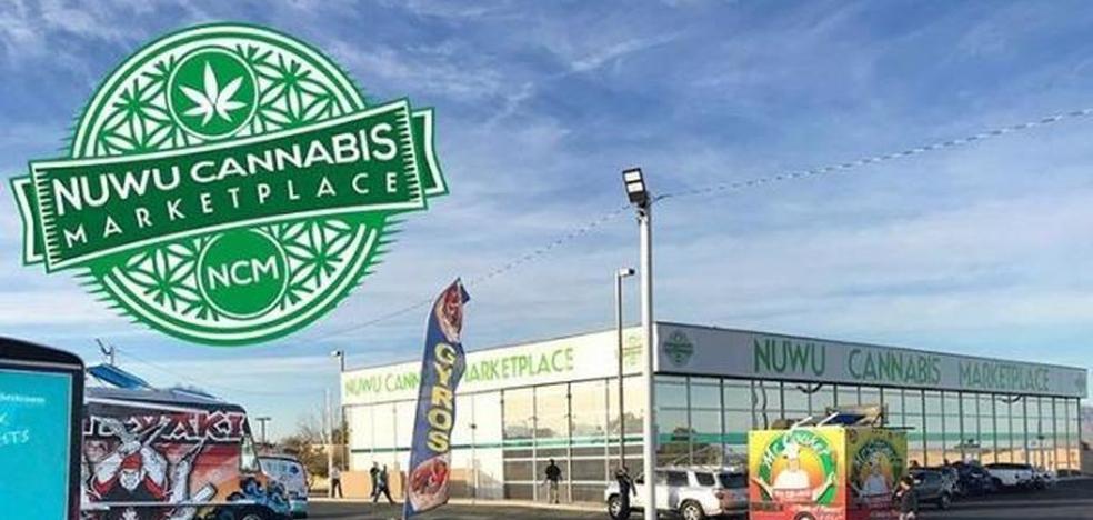 Abre la primera tienda 'automac' de marihuana