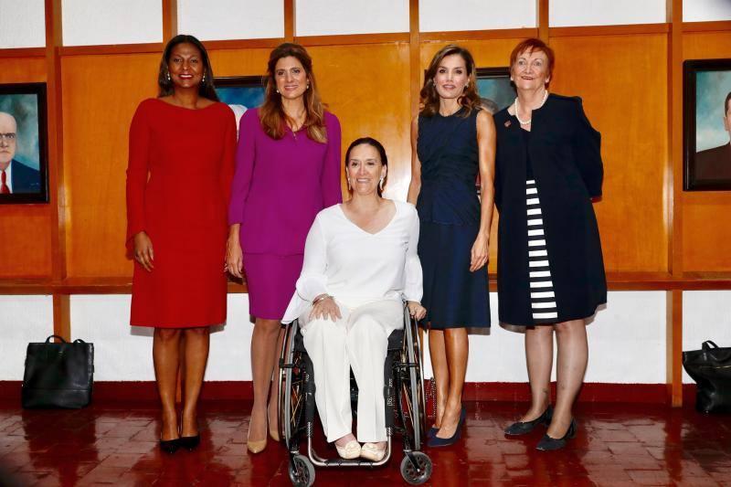 Los brazos de la Reina Letizia que tanto han llamado la atención