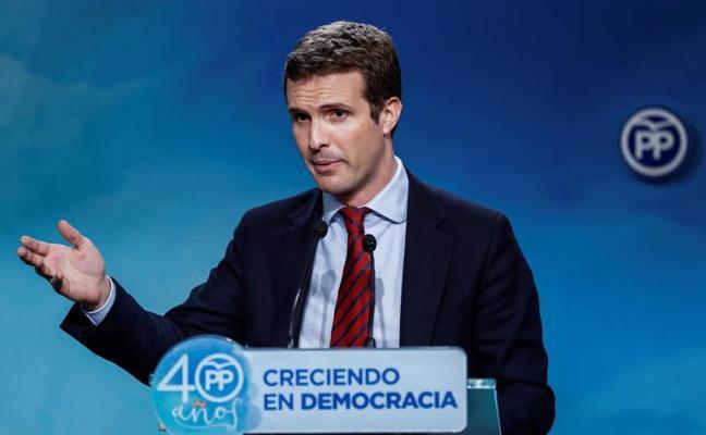 El PP espera que su electorado reconozca el «coraje» del Gobierno en Cataluña