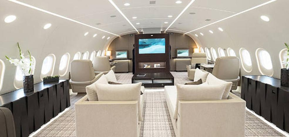 Nos metemos dentro del jet privado más espectacular del mundo