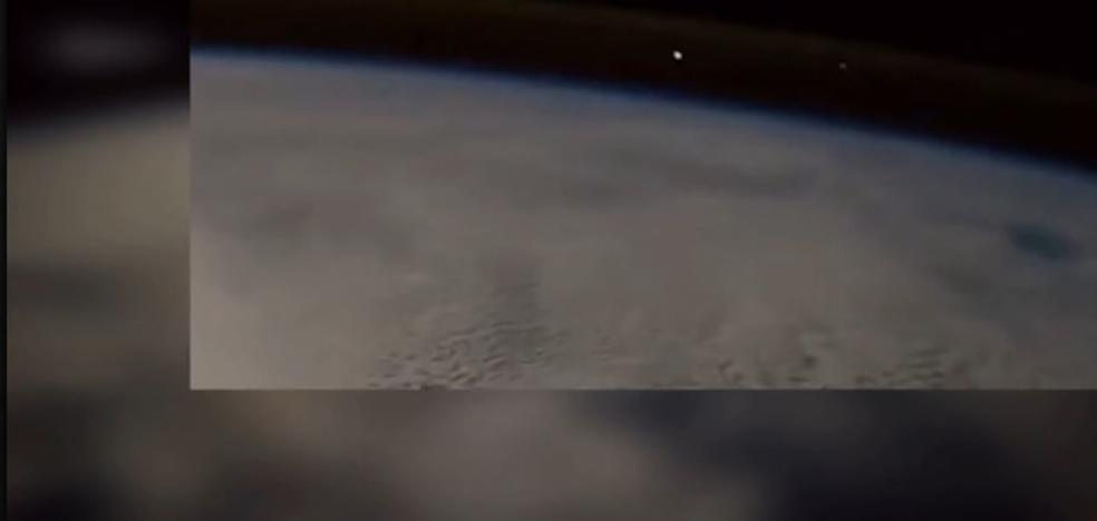 Espectacular vídeo grabado por un astronauta: así se ve un meteorito cayendo a la Tierra