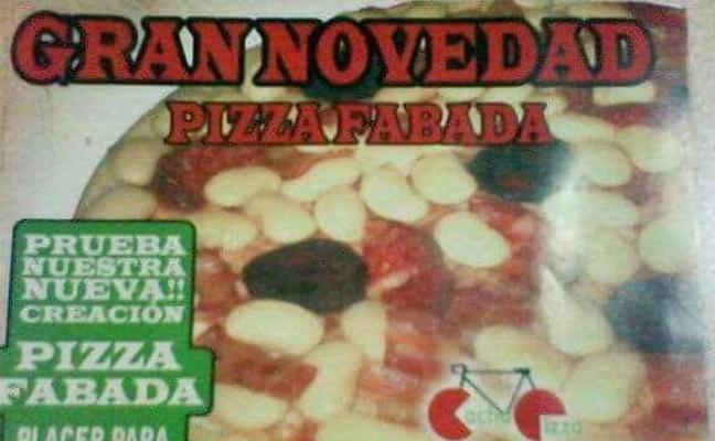 Pizza de fabada, el invento gastronómico que ha fracasado estrepitosamente