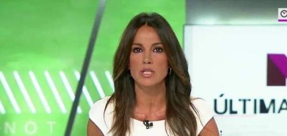 Atropellan y hieren a la presentadora Cristina Saavedra en un paso de peatones