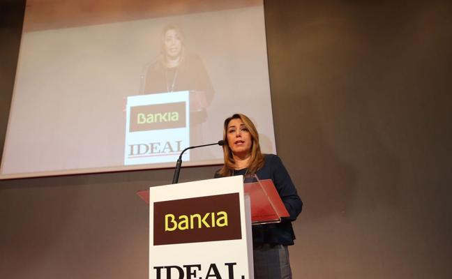 Susana Díaz pide abordar la financiación territorial cuanto antes