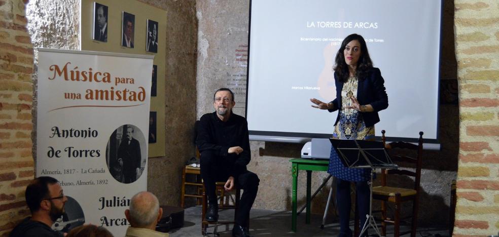Conferencia y recital para celebrar el bicentenario de Antonio de Torres