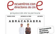 Berger presenta su 'Abracadabra' en los Encuentros con directores