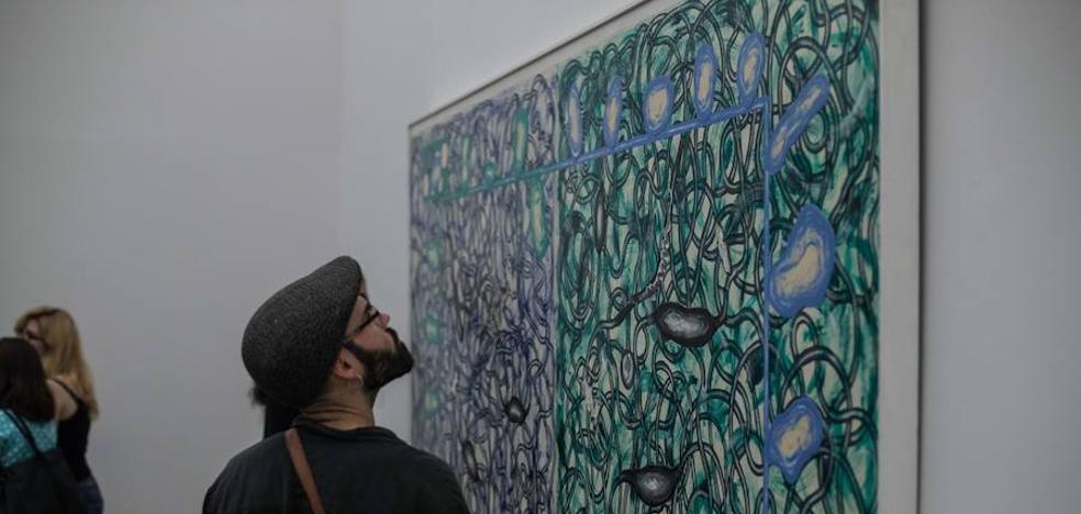 La muestra de Luis Gordillo en la Alhambra atrae a más de 15.000 personas