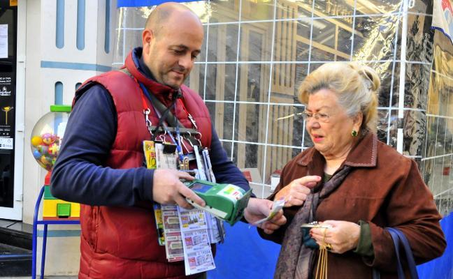 Un vecino de Linares, agraciado con 20.000 euros del sueldazo de la ONCE