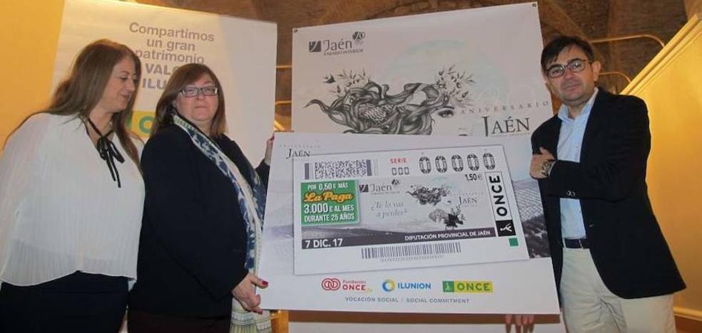 El paraíso interior jiennense se promocionará en España con 5,5 millones de cupones de la ONCE