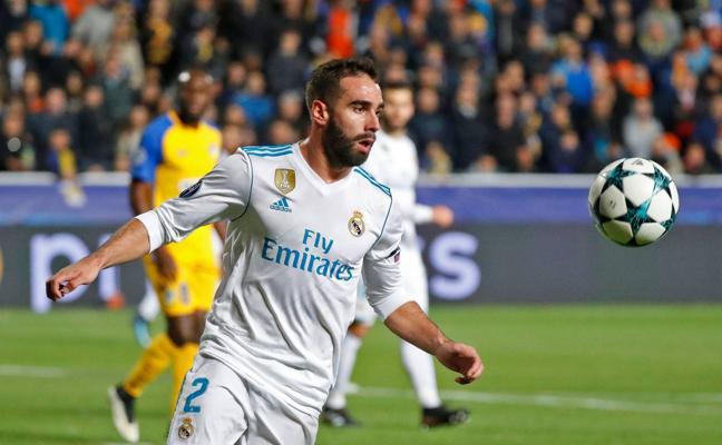 La UEFA abre expediente a Carvajal por provocar una tarjeta amarilla ante el Apoel