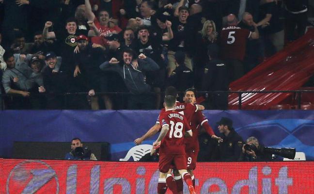 El Liverpool investiga si hubo maltrato hacia sus aficionados en Sevilla