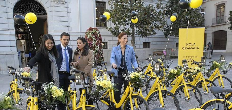 Granada activa un nuevo servicio con mil bicicletas compartidas sin necesidad de aparcamiento fijo