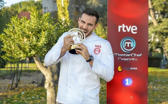 Saúl Craviotto, ganador de 'MasterChef': «No tenía ni idea de cocina»