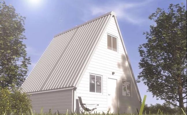 La increíble casa desplegable que construyes en 6 horas y puedes comprar por 28.000 euros